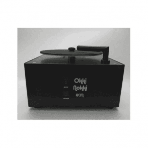 Record Cleaning Machine in Black with OEM perspex lid