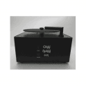 Okki Nokki Record Cleaning Machine in Black with OEM perspex lid and 7 inch arm