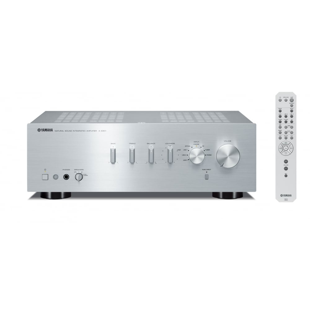 yamaha a s301 integrated amplifier yamaha from hifi sound uk. Black Bedroom Furniture Sets. Home Design Ideas
