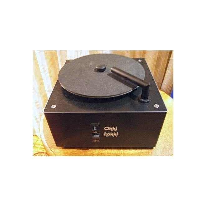 Okki Nokki Record Cleaning Machine in Black including 7 inch arm