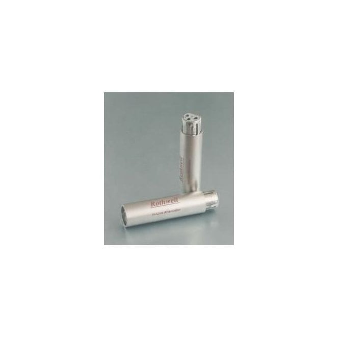 Rothwell Audio Balanced (XLR) In-Line Attenuators