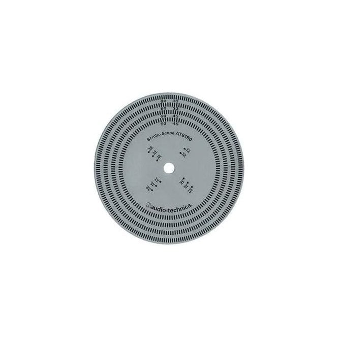 Audio Technica AT6180 Stroboscopic Disc