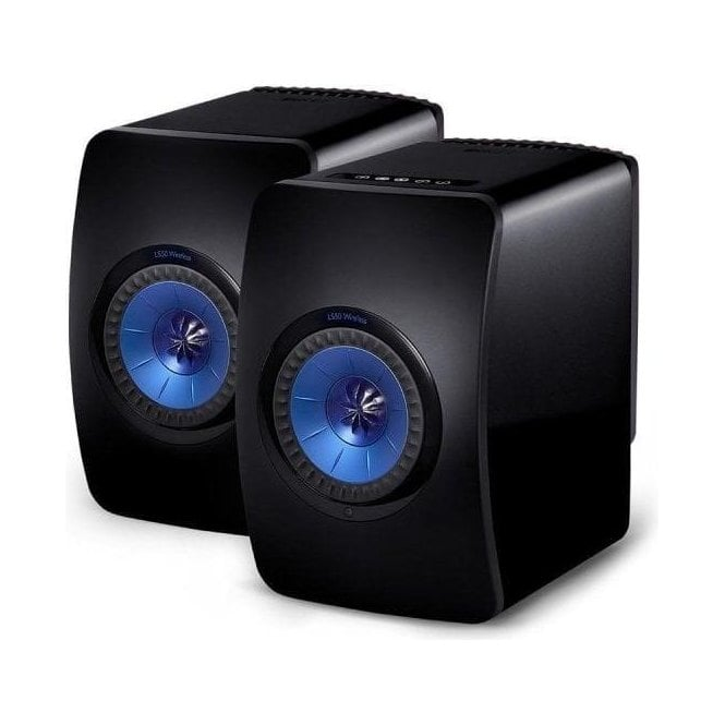Kef LS50 Wireless Bookshelf Speakers