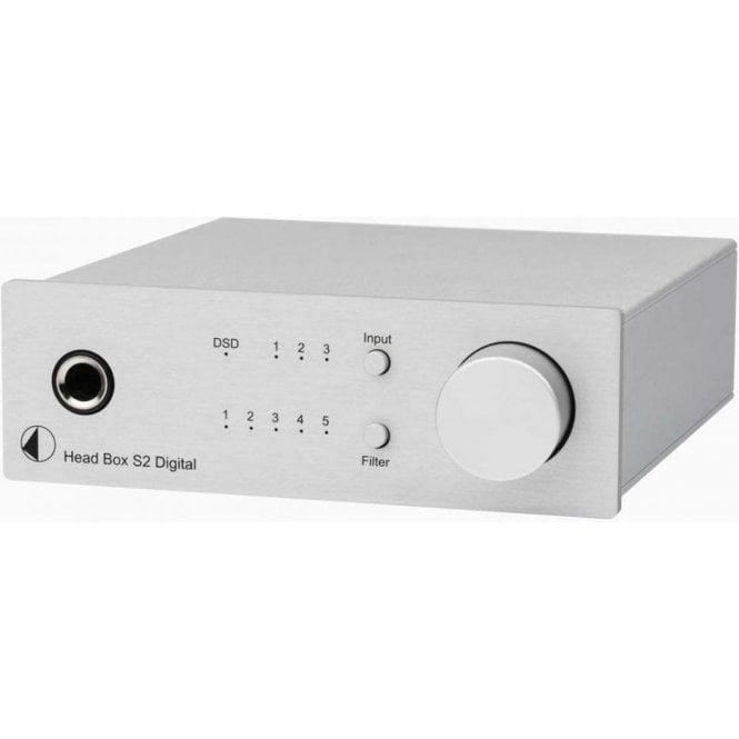 Pro-Ject (Project) Box Design Head Box S2 Digital Headphone Amplifier