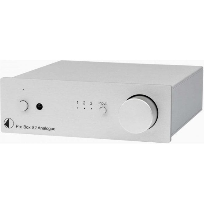 Pro-Ject (Project) Box Design Pre Box S2 Analogue Preamplifier
