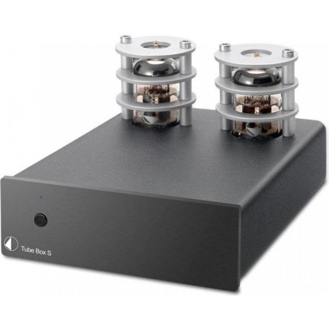 Pro-Ject (Project) Box Design Tube Box S Phono Stage with FREE Connect-IT E Phono Cable