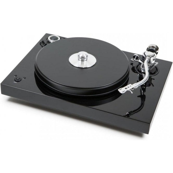 Pro-Ject (Project) 2Xperience SB S-Shape Turntable - Gloss Black Finish (Ex-Demo)