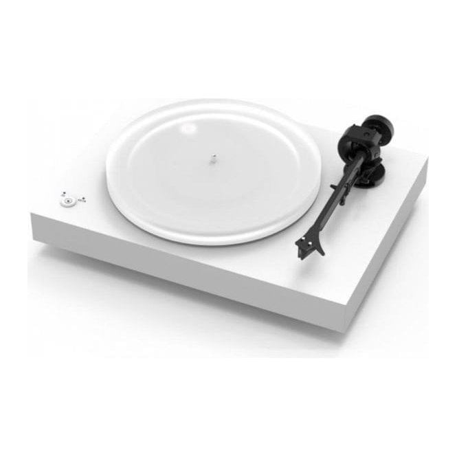 Pro-Ject (Project) X2 Turntable with Ortofon 2M Silver Cartidge - White Finish (Customer Return)