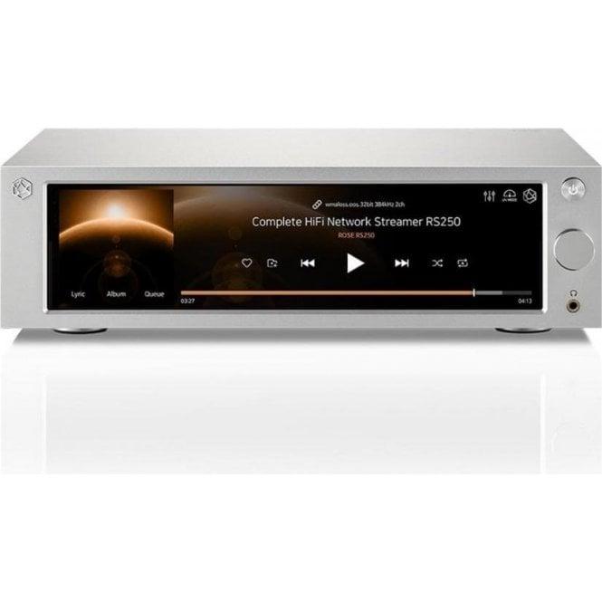 Hi Fi Rose RS250 Streaming DAC Preamplifier