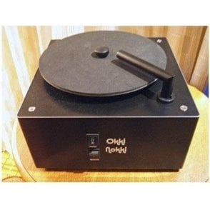 Record Cleaning Machine in Black including 7 inch arm