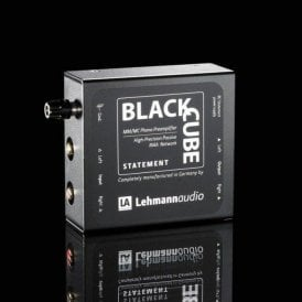 Black Cube Statement MM/MC Phono Stage