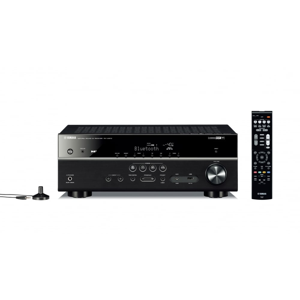 yamaha musiccast rx v481d av receiver yamaha from hifi. Black Bedroom Furniture Sets. Home Design Ideas